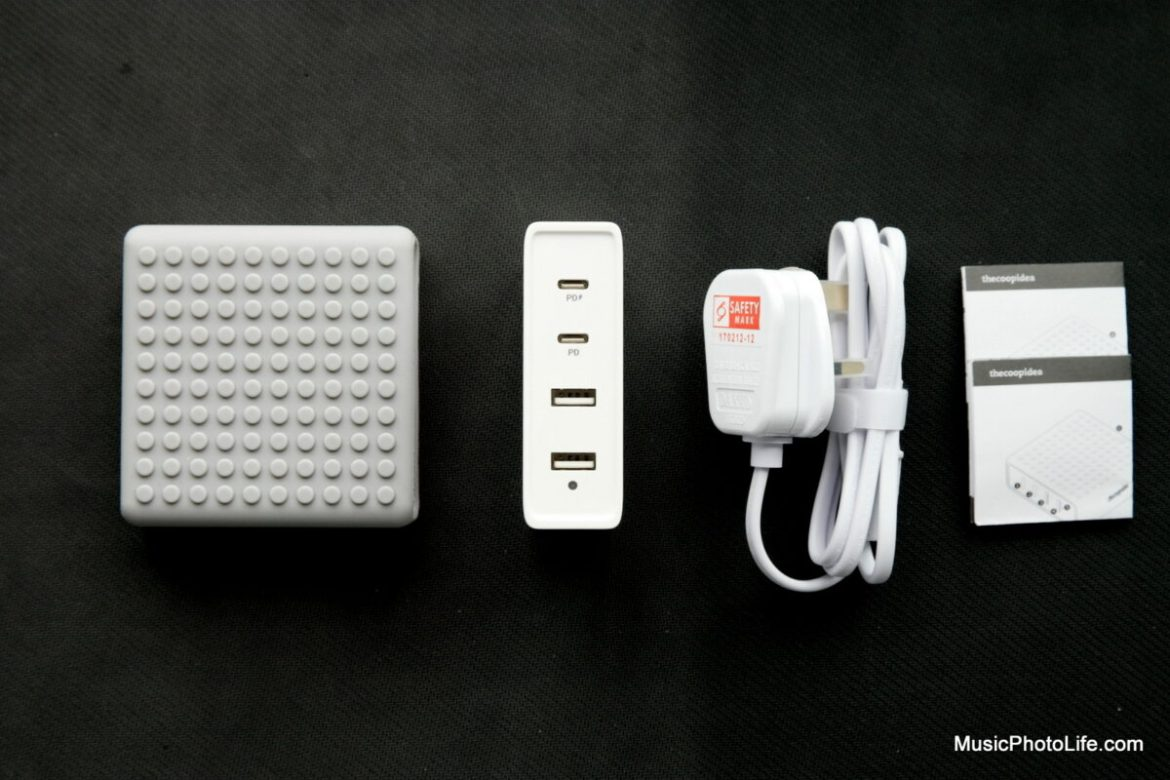 thecoopidea Builder Block PD charger review by Music Photo Life, Singapore tech blog