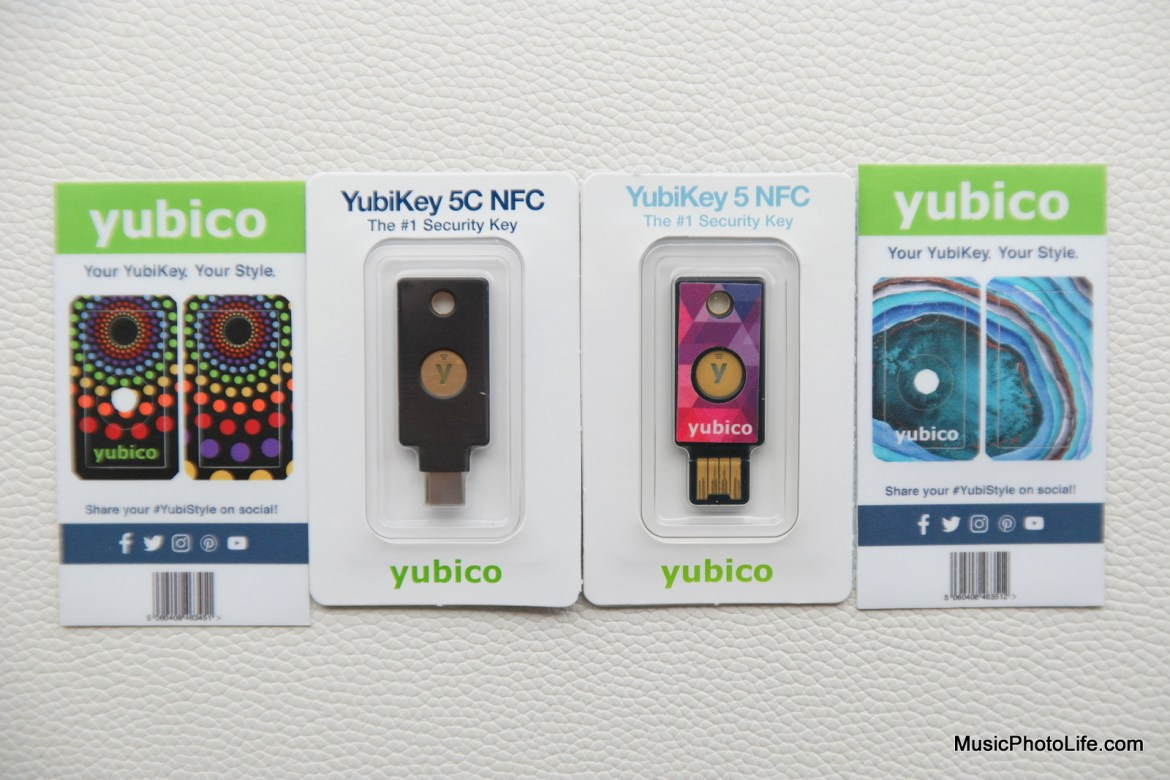 YubiKey 5C NFC review by Music Photo Life, Singapore tech blog