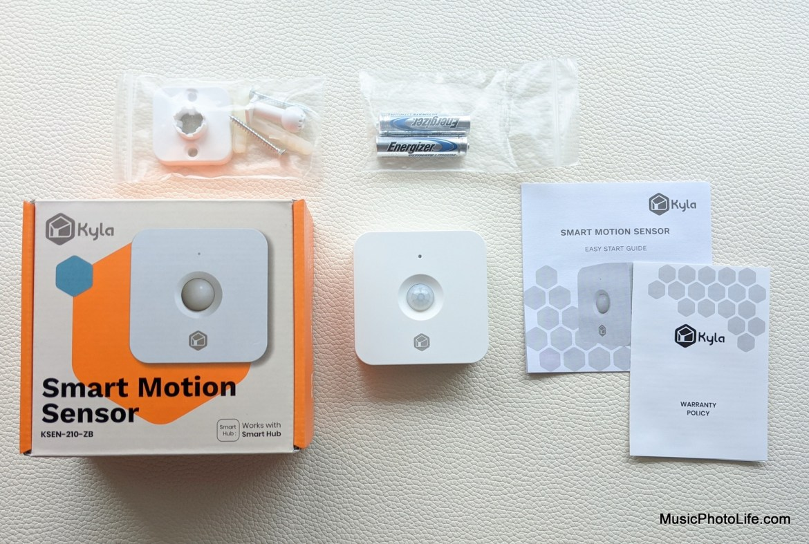 Aztech Kyla Gen 2 Smart Motion Sensor review by Music Photo Life