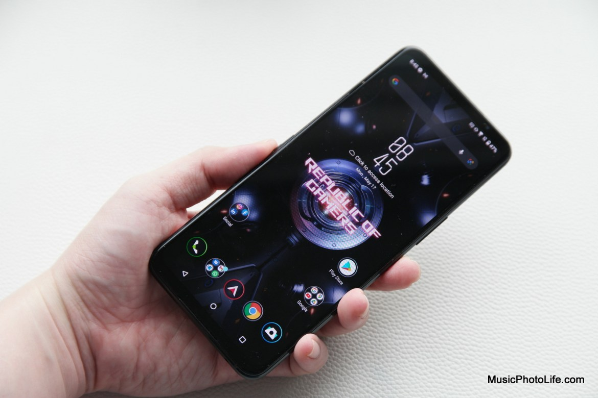ASUS ROG Phone 5 review by Music Photo Life, Singapore tech blog