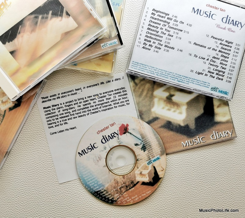 Music Diary 1998 CD by Chester Tan details