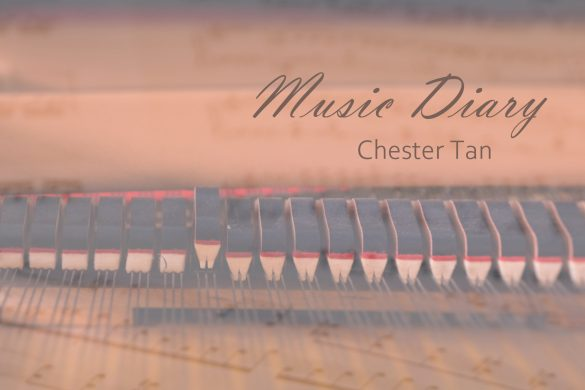 Music Diary 2021 album cover by Chester Tan