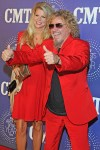 Sammy Hagar with wife Kari
