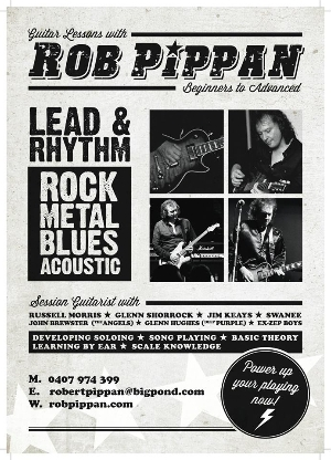 Rob Pippan Guitar Lessons