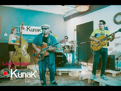 Tomcat y el Rock & Roll Combo. Live Session in Kunak Records