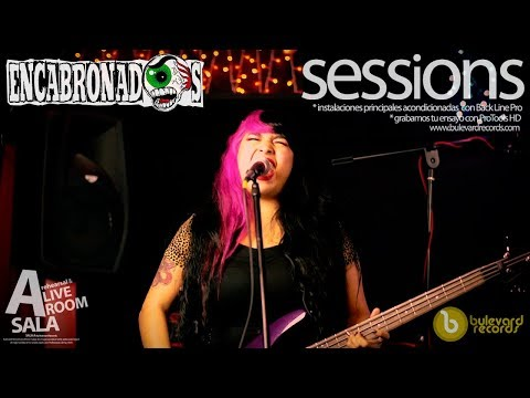 Live Session. Encabronados – Inocente Corrupción @Bulevard Records Mexico City.