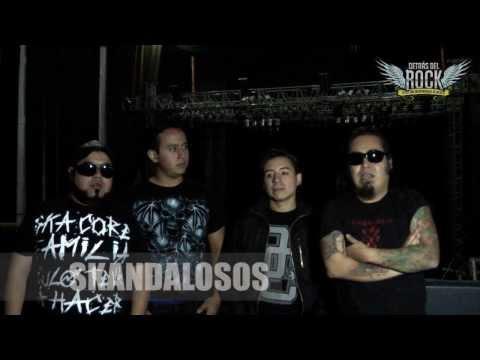 SESIONES EN VIVO DETRAS DEL ROCK con SKANDALOSOS