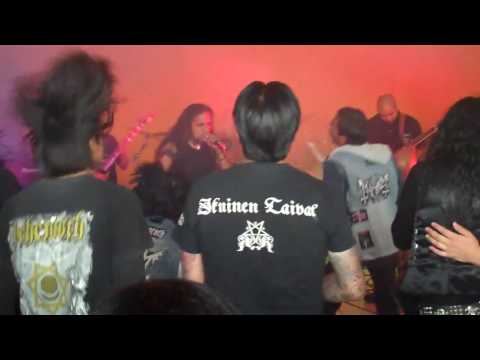 Metal mexicano – Black Souls – A muerte por honor en vivo (Temoaya)