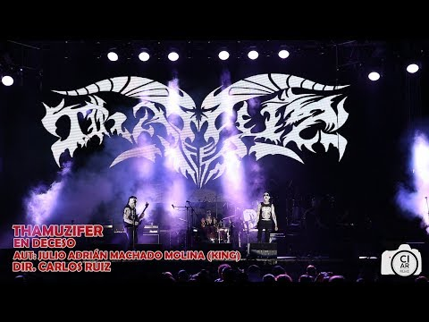 THAMUZIFER – En deceso (en vivo FESTIVAL DE ROCK SINALOA 2018)