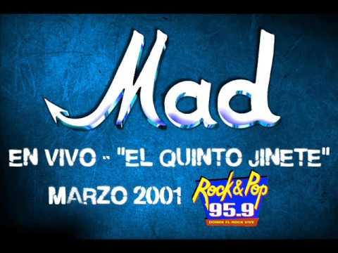 """MAD – Expreso Rock / El Boxeador (En vivo, """"EL QUINTO JINETE"""" – FM Rock & Pop)."""