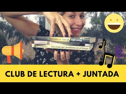1er Club de Lectura + Juntada en Vivo (Participá!)