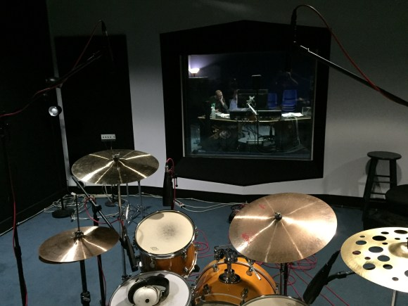 Recording drums in the Digital Recording Studio