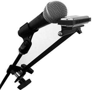 Microphone Harmonica Holder