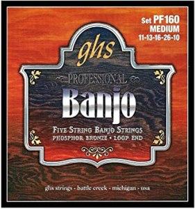 GHS 5-String Banjo Strings