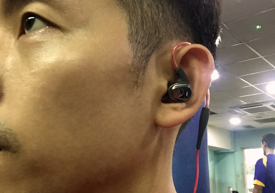 Audio Technica ATH-SPORT3 Personalised Fit Sports Earphone Review
