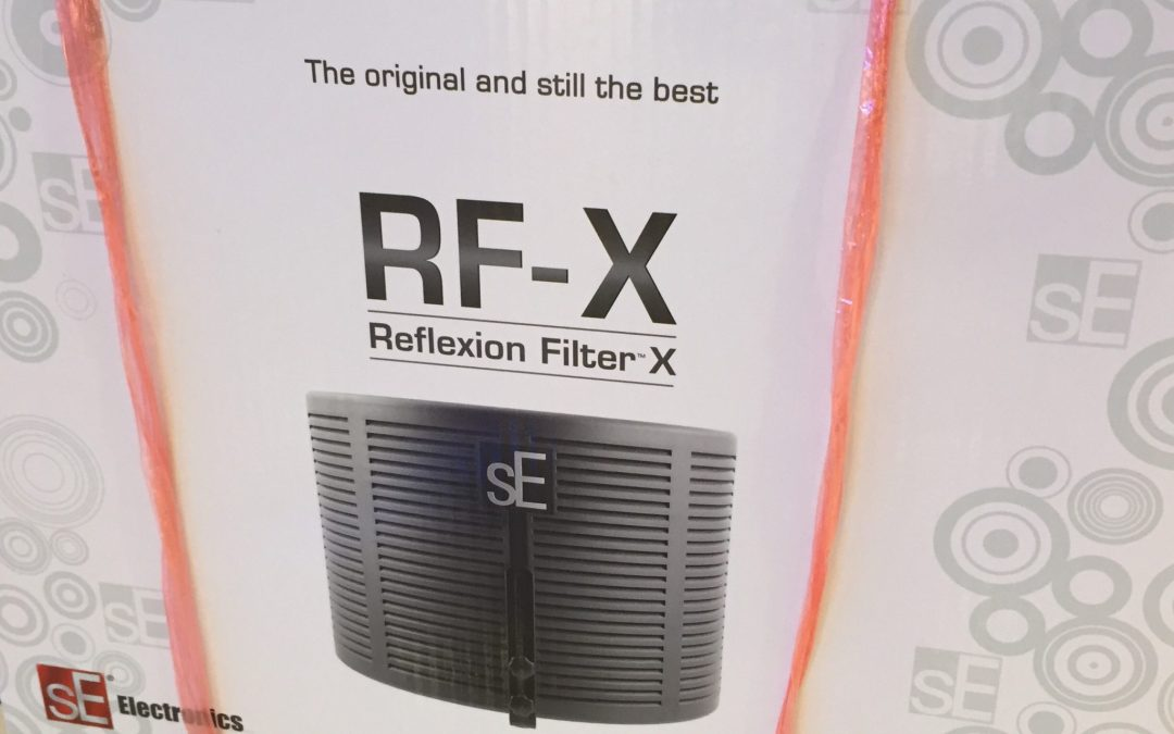 sE RF-X Reflexion Filter – The Fastest Way To Get Your Home Studio Treated Acoustically