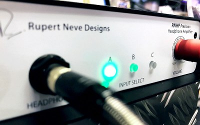 The New Rupert Neve RNHP Headphone Amp