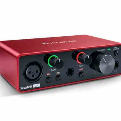 Focusrite Solo Gen 3 Audio Interface singapore