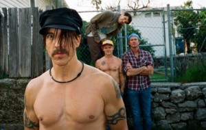 Red Hot Chili Peppers - band picture - 2012