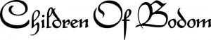Children of Bodom Logo - black on white