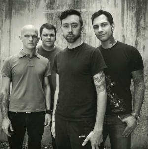 Rise Against - band picture - black and white