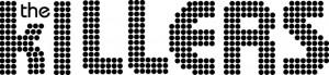 The Killers Logo - black on white