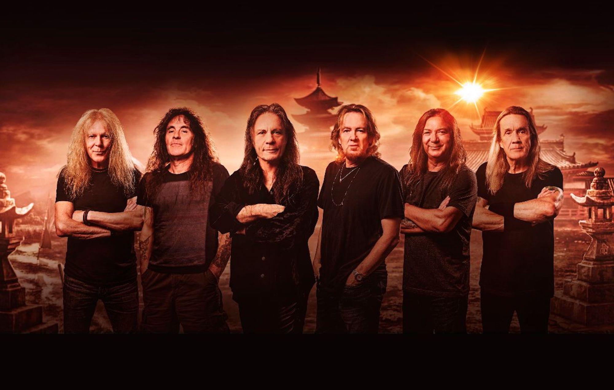 Iron Maiden band 2021 Music Trajectory