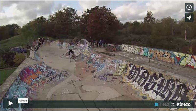 BMX Park Drone footage