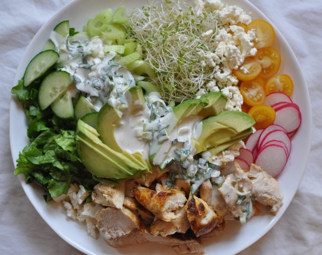 greek yogurt herb salad dressing