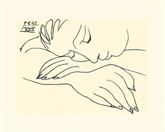 Sleeping Woman by Picasso