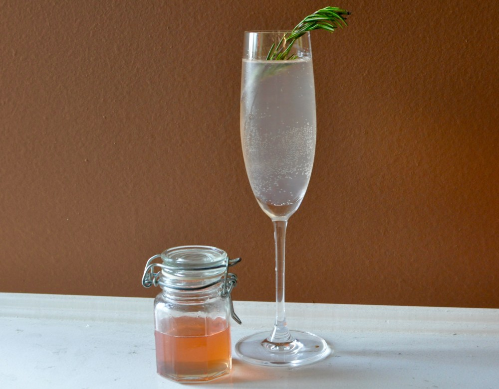 Blood Orange and Rosemary Cocktail