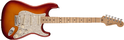 Fender Select Port Orford Cedar Stratocaster Sienna Sunburst