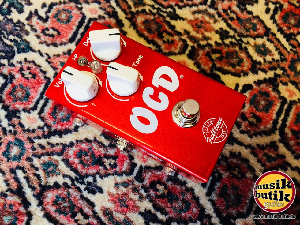 Fulltone OCD V2 Candy Apple Red Custom Shop.jpg