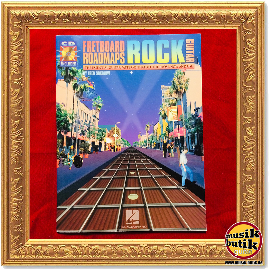 Jazz Guitar HL695354 Fretboard Roadmaps Fred Sokolow