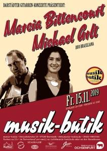 Plakat A2 Marcia & Michael 2019