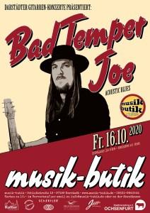 Plakat A2 Bad Temper Joe 2020