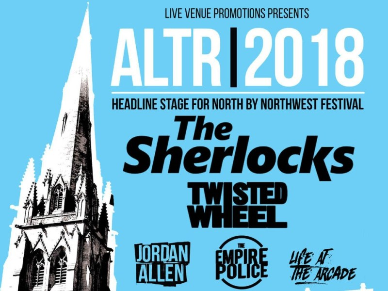 Preston's St. John's Minster opens its doors for the incredible 5-act indie-rock show ALTR 2018