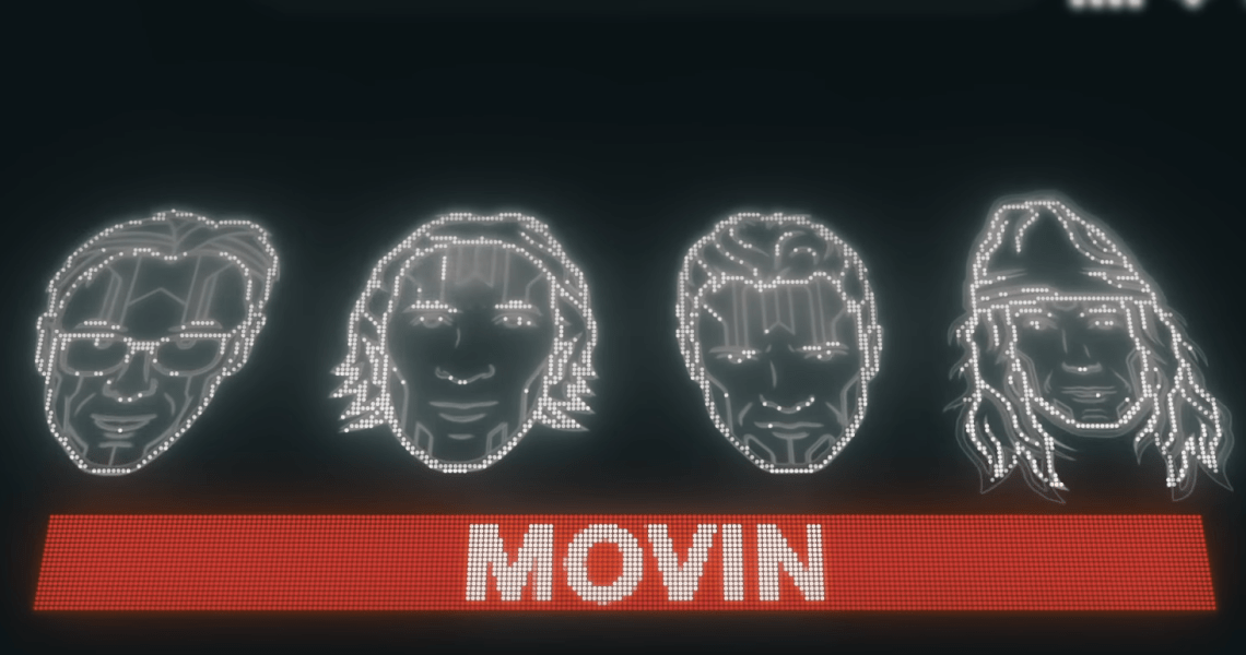 Deejay Time - Movin (Official Lyric Video)