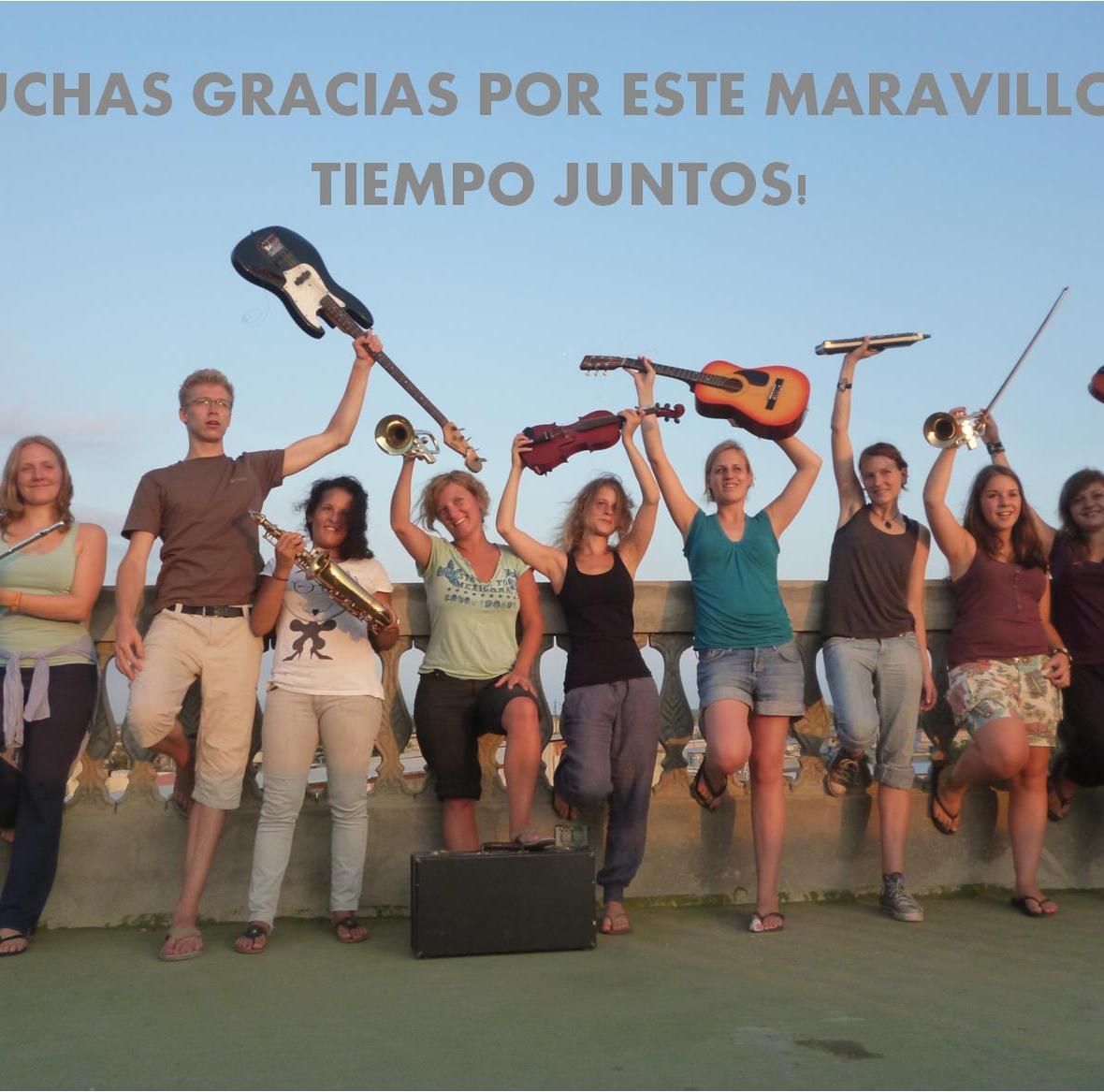 Gruppenfoto Ecuador 2011