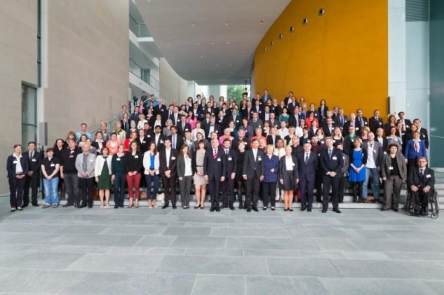 Preisträger des startsocial Wettbewerbs 2012 – Foto: Thomas Effinger