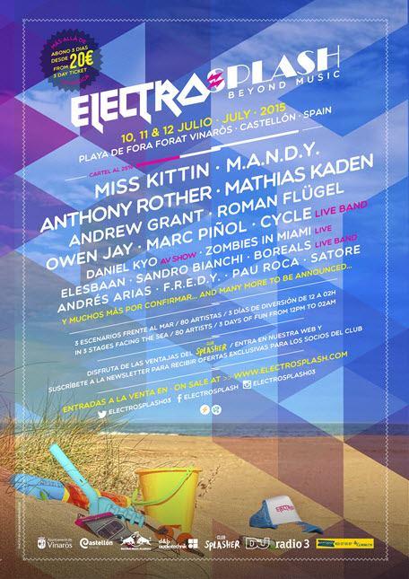 electrospash