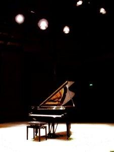 Die Angst des Klaviers vor dem Auftritt. Foto: Hufner
