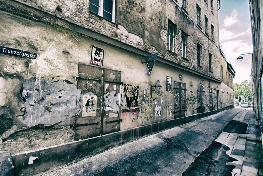Die Straße, die es nicht mehr gibt. Foto: Hufner