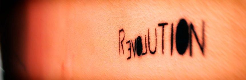 revolution. Foto: Hufner