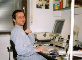 Me und my Amiga 1990. Foto: SR