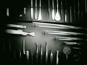 Medizinische Instrumente. Foto: Hufner