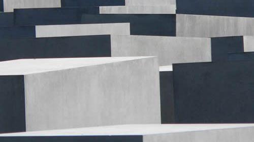 Denkmal für die ermordeten Juden Europas. Foto: Hufner