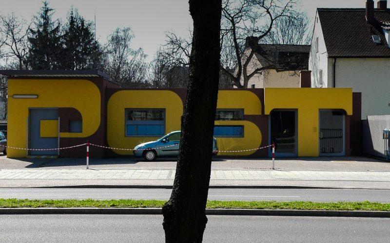 Die Post. Foto: Hufner