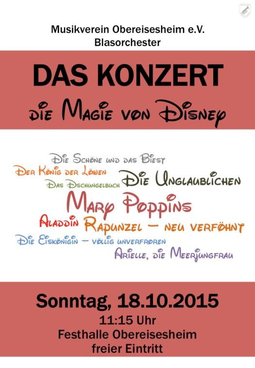 DAS KONZERT - die Magie von Disney
