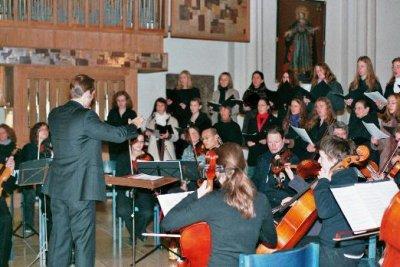 Chor und Orchester in St. Georg